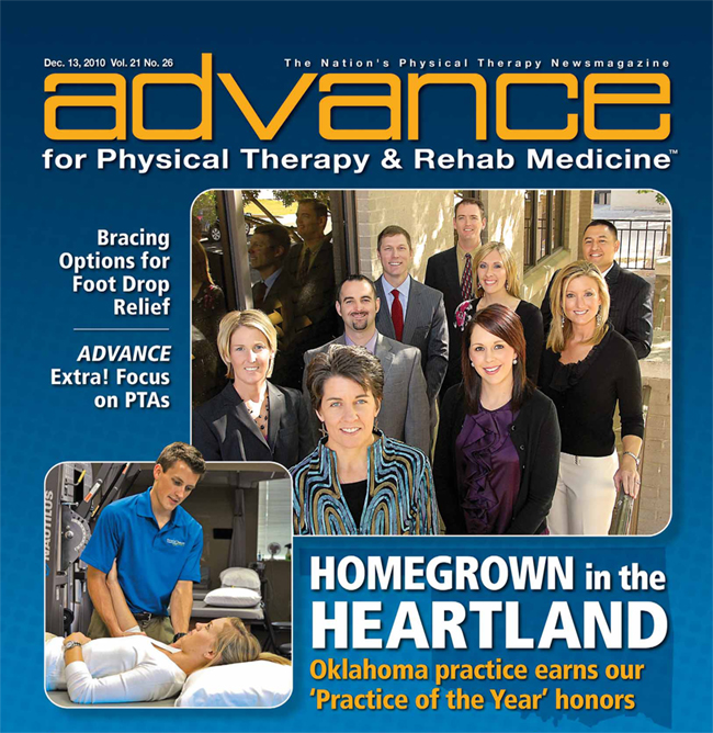 Advance for Physical Therapy & Rehab Medicine Magazine Cover